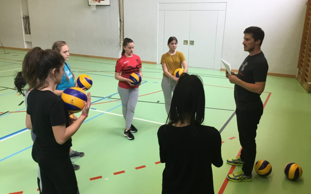 Volleycamp der U15/16 Junioren und Juniorinnen der SG Rohrdorf-Mellingen