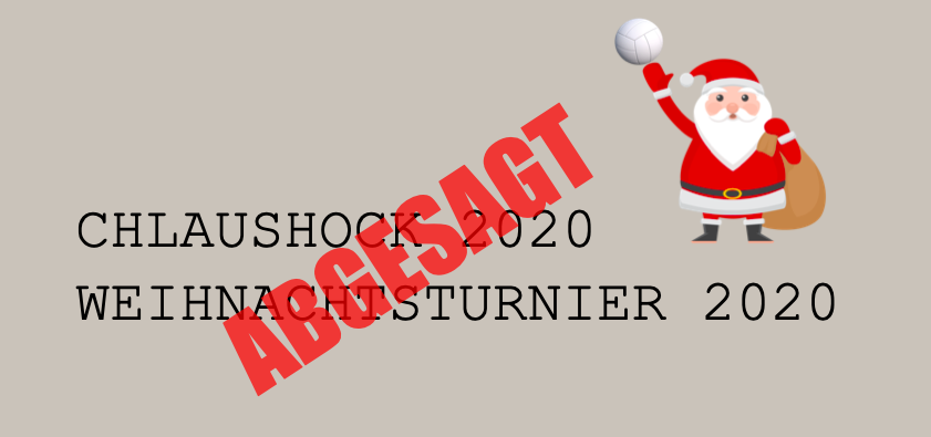 Absage Chlaushock & Plauschturnier